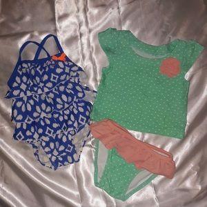 Toddler Girl Swimsuit 12 months